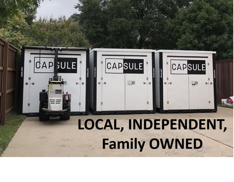 Capsule Moving and Storage Containers  is portable storage and option for you?